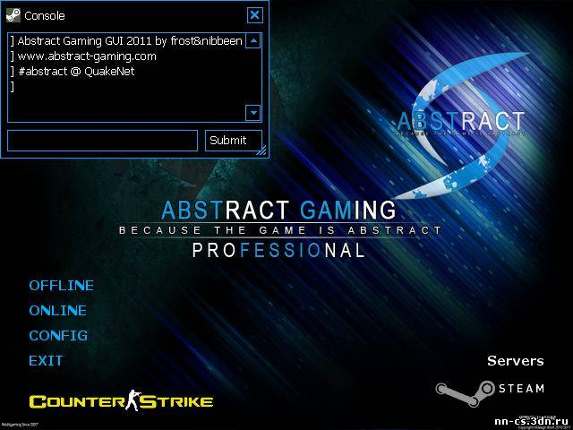 Abstract Gaming GUI 2011