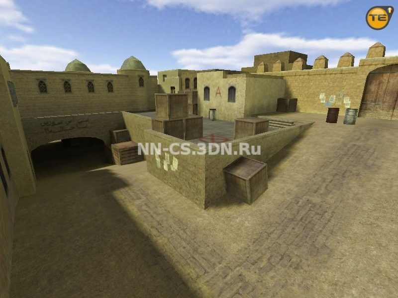 Карта «css_dust2» для Counter-Strike 1.6