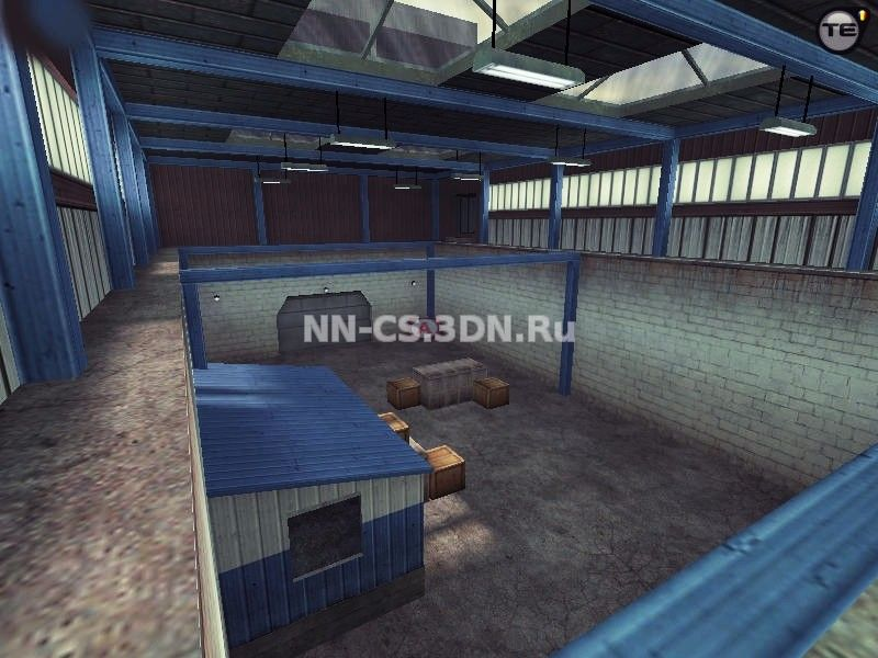 Карта «css_nuke» для Counter-Strike 1.6