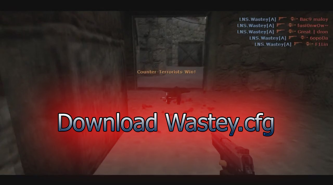 Конфиг от Wastey [New 2015] CS 1.6