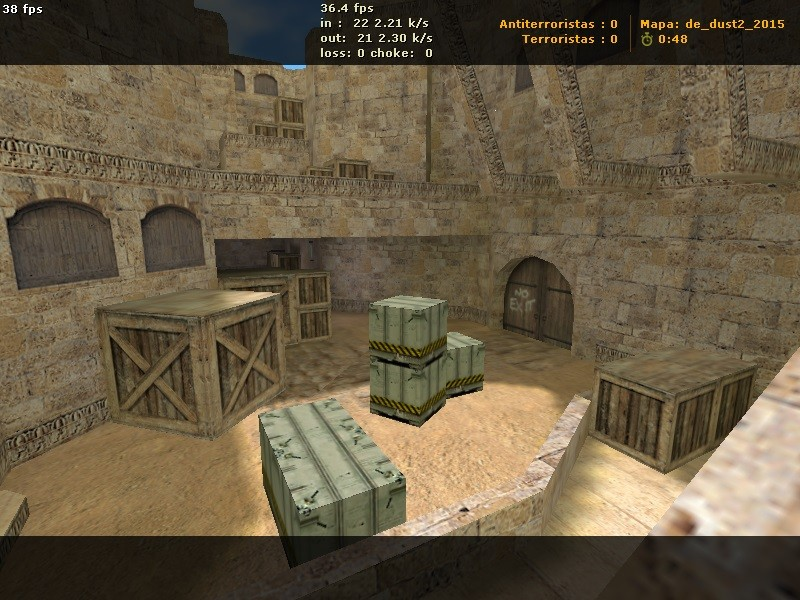 Карта De_Dust2_2015 для Counter-Strike 1.6