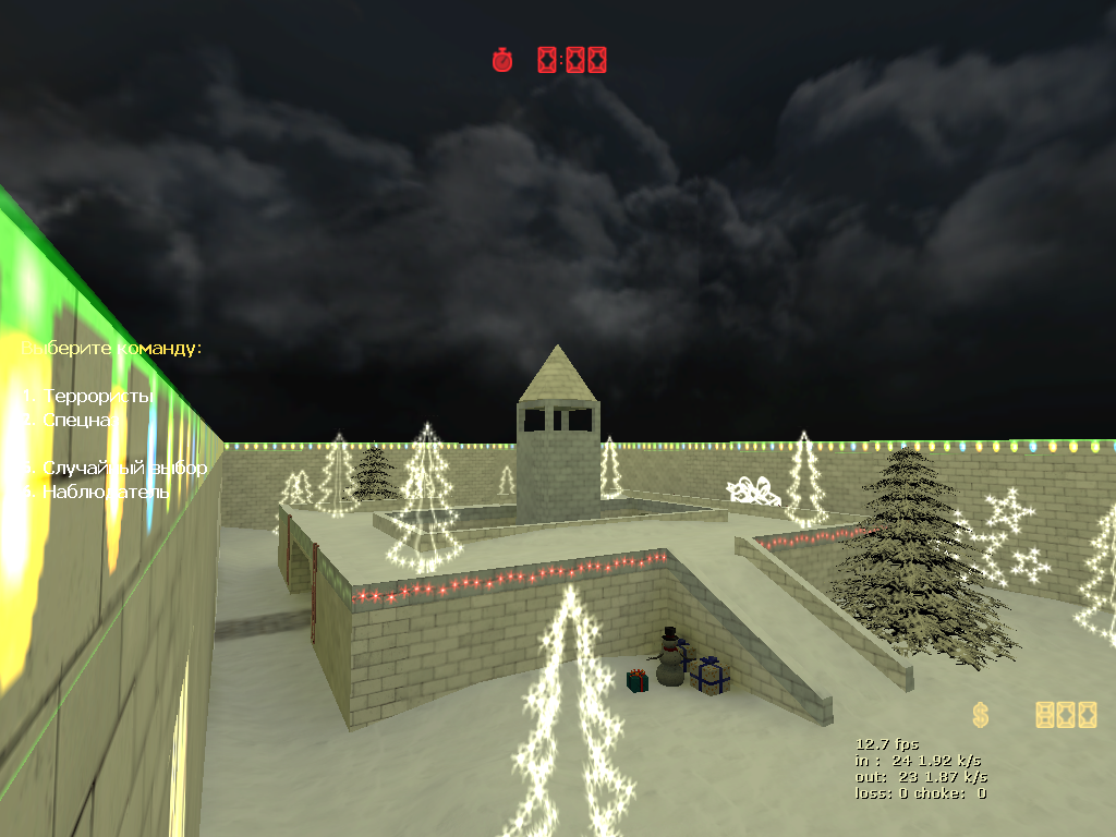 Awp_lego_2_winter для Counter-Strike  1.6