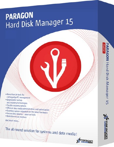 Paragon Hard Disk Manager 15 Professional 10.1.25.813 (2016/RUS)