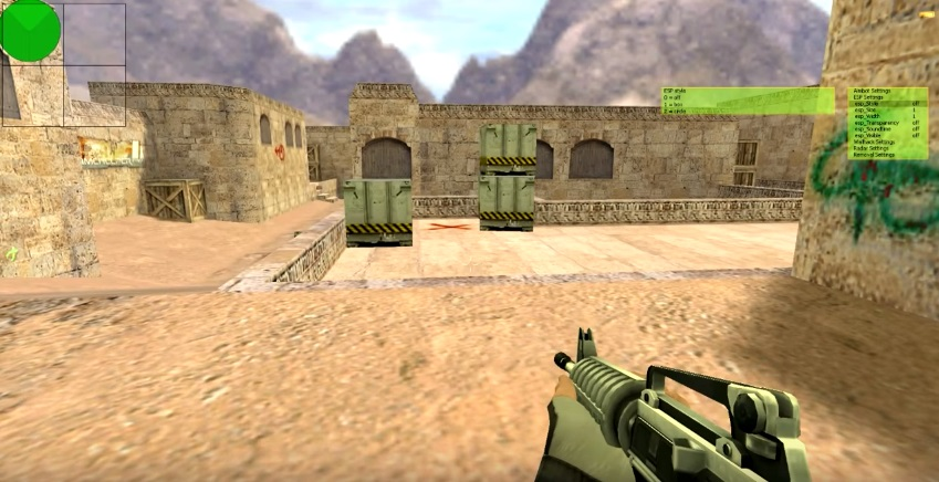 Aim + WH для Counter-Strike 1.6 by GarilaZ (2016)