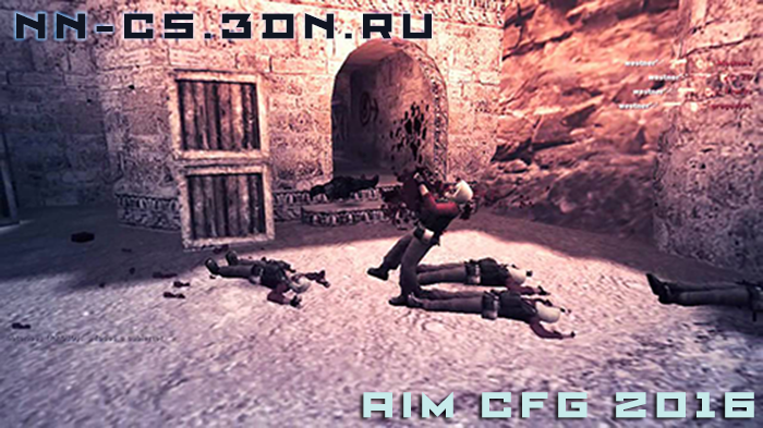Counter-Strike 1.6 CFG - AK47 and M4A1 [AIM]