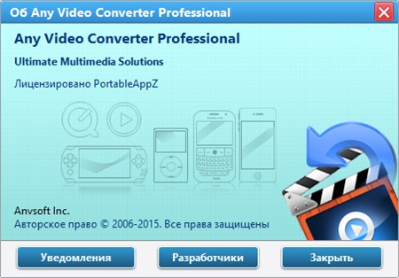 Any Video Converter Professional Portable 6.0.6 PortableAppZ