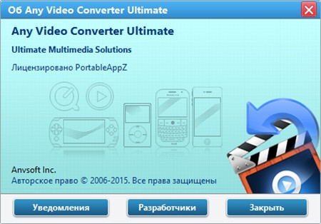 Any Video Converter Ultimate Portable 6.0.6 PortableAppZ