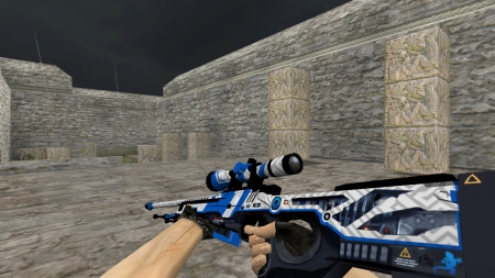 Модель AWP «Railgun» для Counter-Strike 1.6