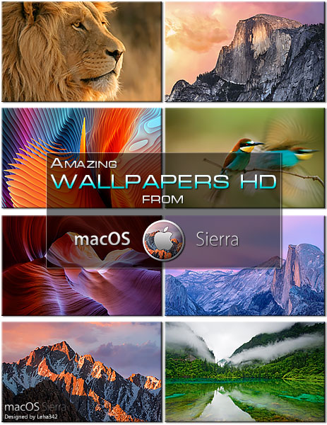 Amazing Wallpapers HD from macOS Sierra