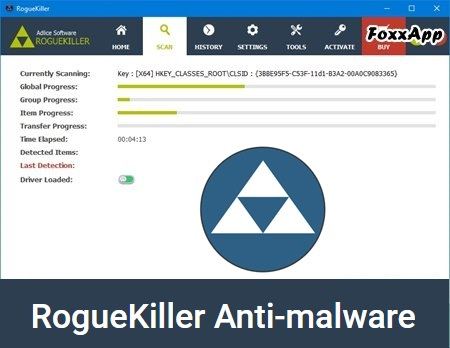 RogueKiller Anti-Malware Portable 12.11.15.0 RUS Old/New 32-64 bit FoxxApp