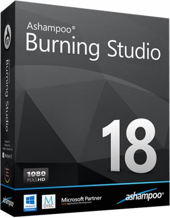 Ashampoo Burning Studio 18.0.8.1 RePack/Portable by elchupacabra