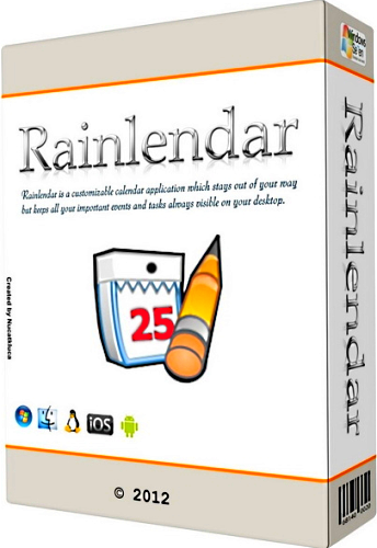 Rainlendar PRO 2.14 Build 154 (x86/x64) Portable