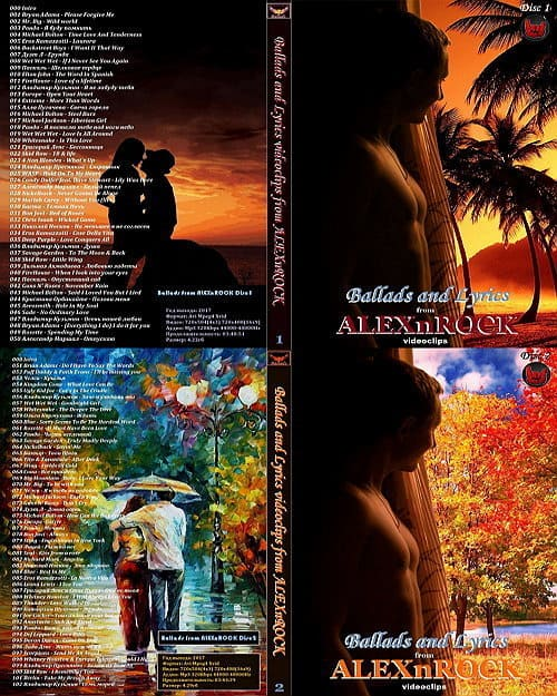 Ballads and Lyrics от ALEXnROCK 2DVD (2017)
