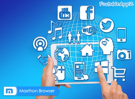 Maxthon Cloud Browser Portable 5.2.1.4000 Stable 32-64 bit PortableAppZ