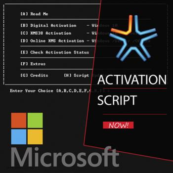 Microsoft Activation Scripts 1.1