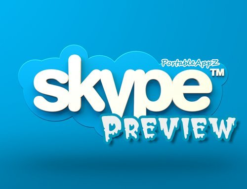 Skype Preview Portable 8.55.76.112 PortableAppZ