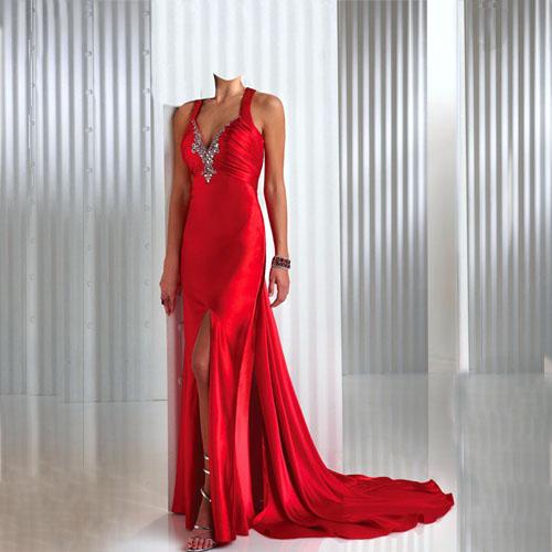 Шаблоны для женщин в платьях